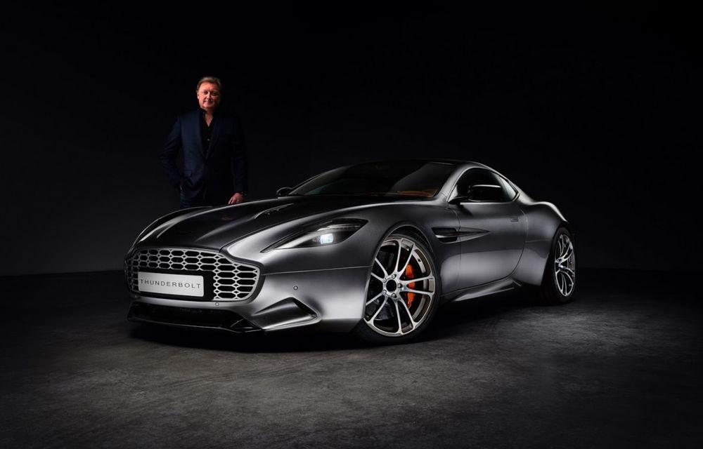 Aston Martin şi Henrik Fisker şi-au rezolvat disputa de design: proiectul Thunderbolt a fost oprit - Poza 2