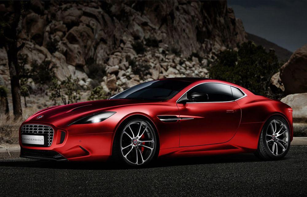 Aston Martin şi Henrik Fisker şi-au rezolvat disputa de design: proiectul Thunderbolt a fost oprit - Poza 3