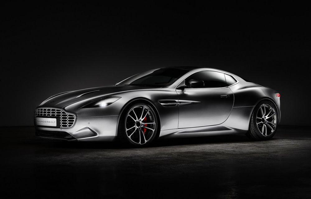 Aston Martin şi Henrik Fisker şi-au rezolvat disputa de design: proiectul Thunderbolt a fost oprit - Poza 4