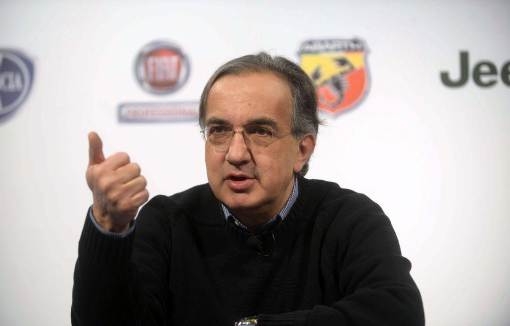 Sergio Marchionne ar putea pregăti o fuziune importantă până în 2020 - Poza 1