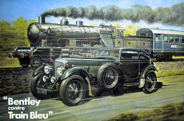 Poveşti auto: Bentley şi Trenul Albastru, o cursă rămasă în istorie - Poza 2