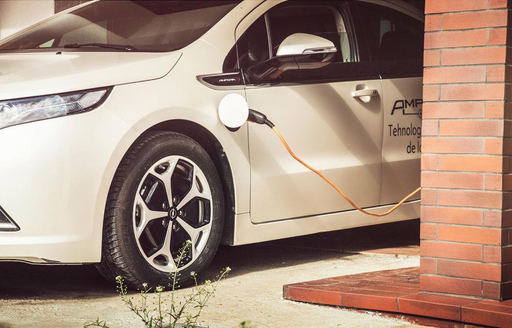 Experimentul Ampera, raport după prima săptămână: 400 de kilometri electrici cu 21 de lei - Poza 3