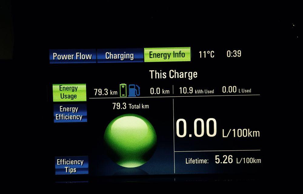 Experimentul Ampera, raport după prima săptămână: 400 de kilometri electrici cu 21 de lei - Poza 13