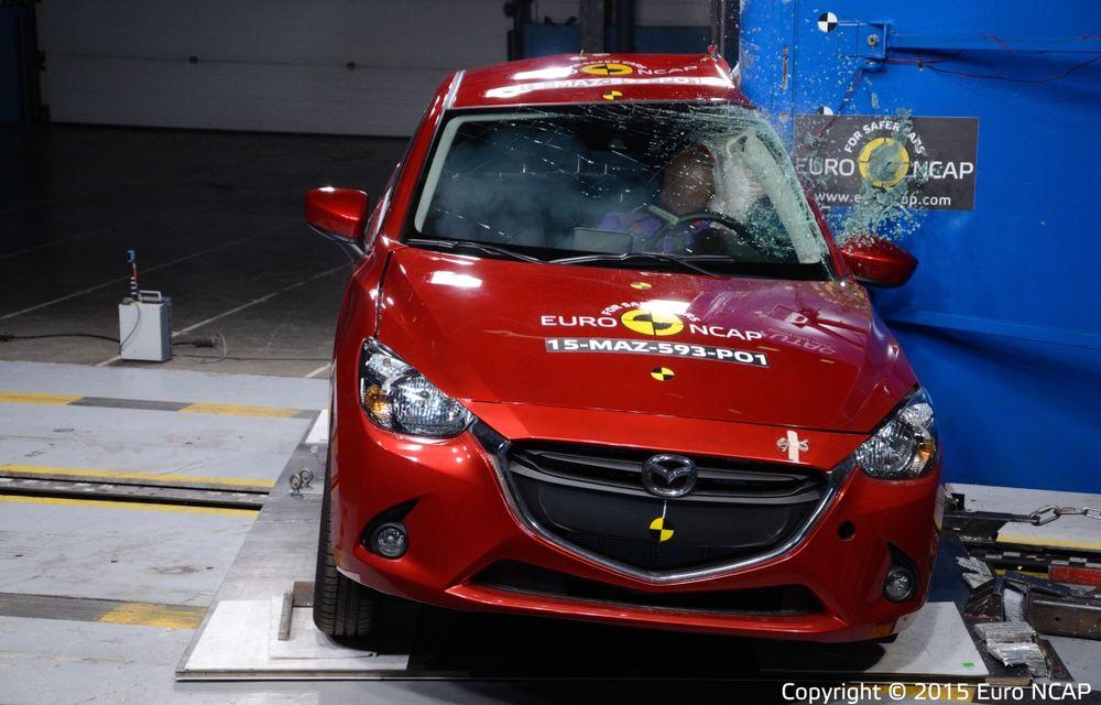 Rezultate EuroNCAP: 5 stele pentru Renault Espace şi Suzuki Vitara, 4 stele pentru Mazda2 şi Fiat 500X - Poza 12