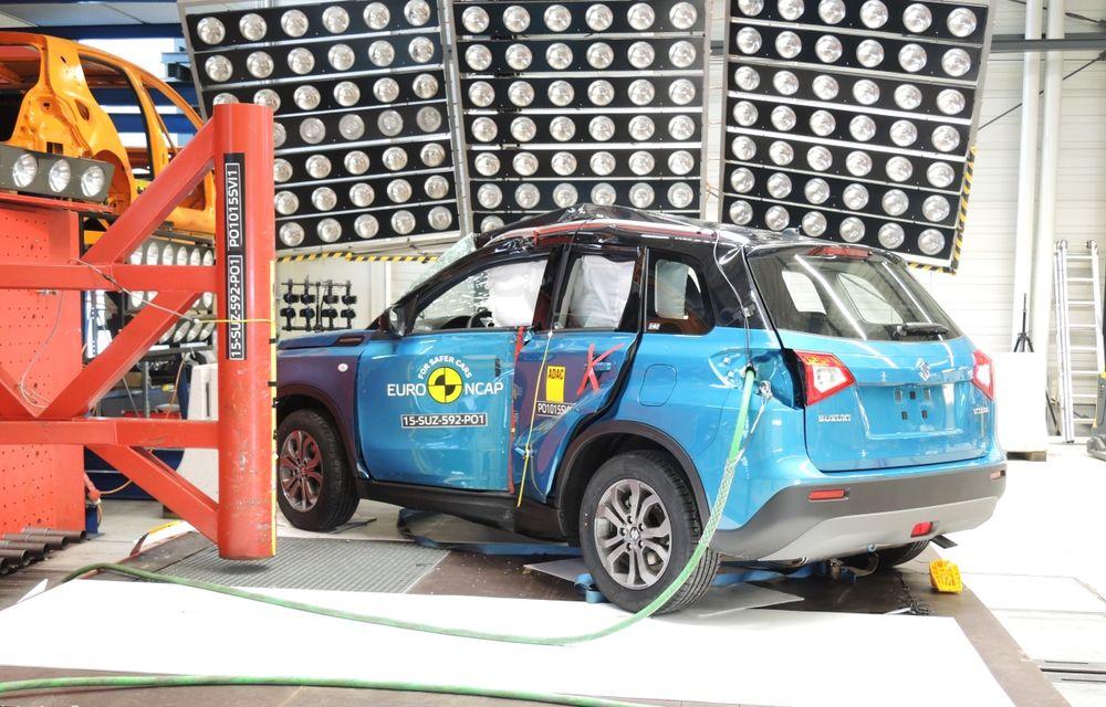 Rezultate EuroNCAP: 5 stele pentru Renault Espace şi Suzuki Vitara, 4 stele pentru Mazda2 şi Fiat 500X - Poza 5