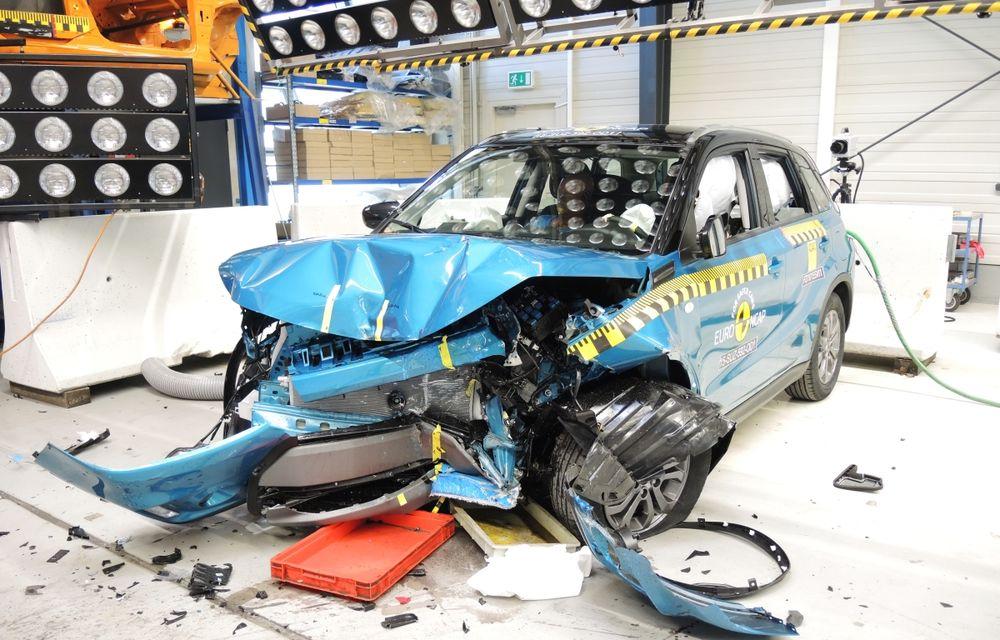 Rezultate EuroNCAP: 5 stele pentru Renault Espace şi Suzuki Vitara, 4 stele pentru Mazda2 şi Fiat 500X - Poza 2