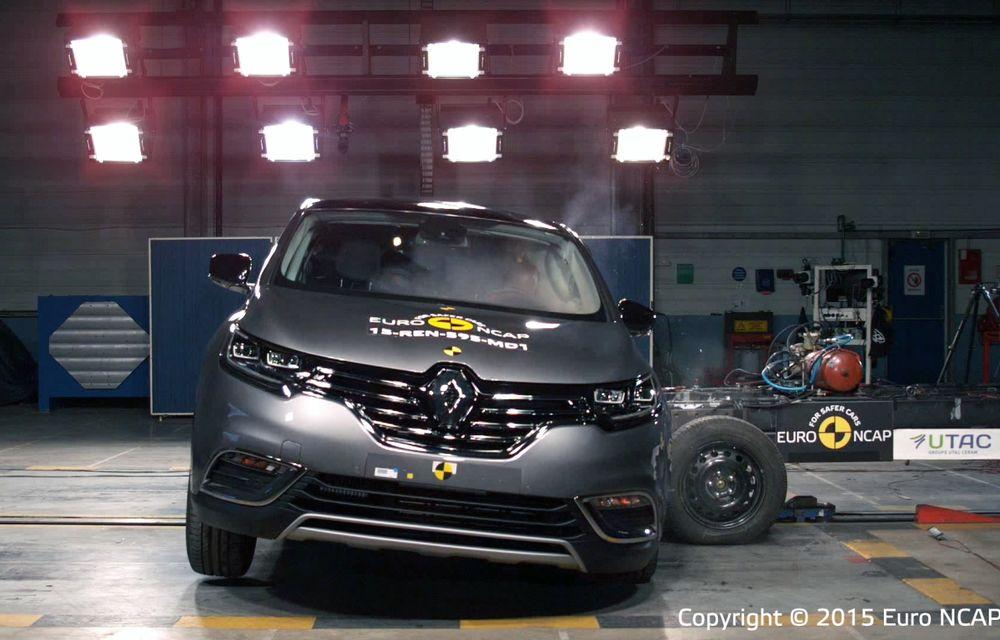 Rezultate EuroNCAP: 5 stele pentru Renault Espace şi Suzuki Vitara, 4 stele pentru Mazda2 şi Fiat 500X - Poza 20