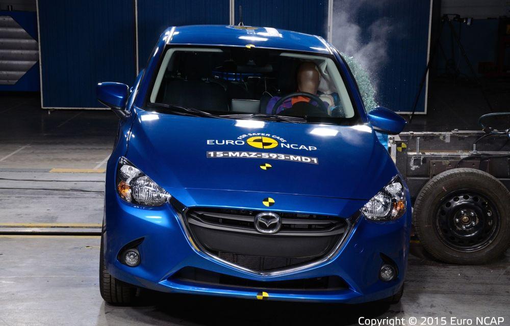 Rezultate EuroNCAP: 5 stele pentru Renault Espace şi Suzuki Vitara, 4 stele pentru Mazda2 şi Fiat 500X - Poza 14