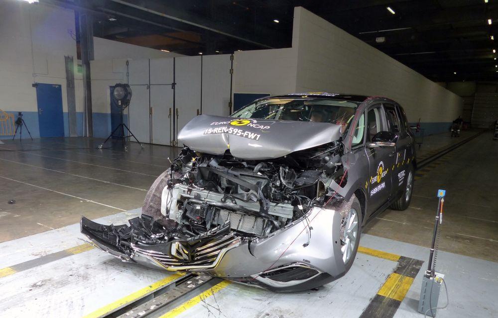 Rezultate EuroNCAP: 5 stele pentru Renault Espace şi Suzuki Vitara, 4 stele pentru Mazda2 şi Fiat 500X - Poza 19