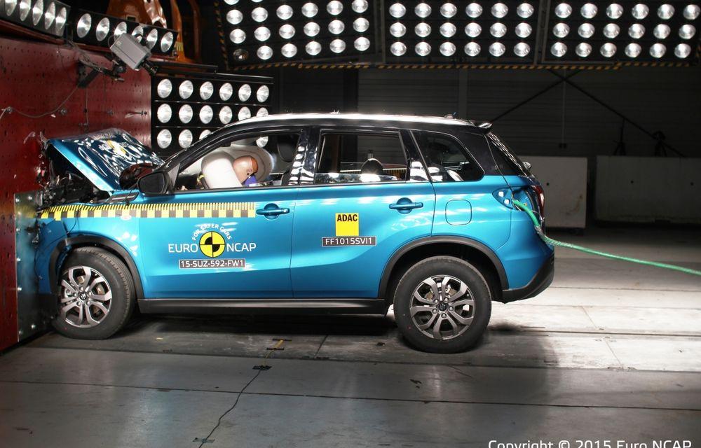 Rezultate EuroNCAP: 5 stele pentru Renault Espace şi Suzuki Vitara, 4 stele pentru Mazda2 şi Fiat 500X - Poza 4