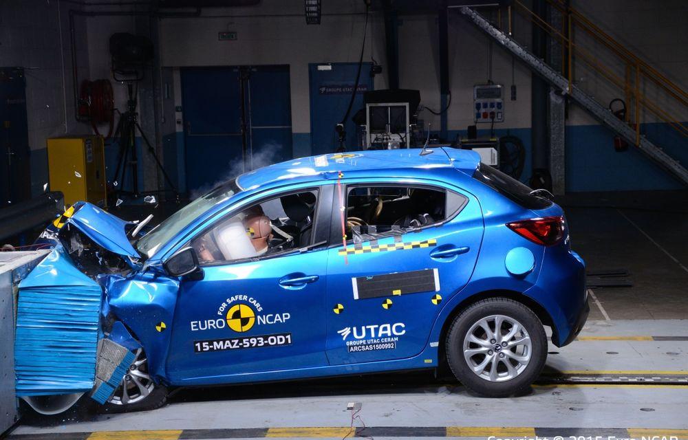 Rezultate EuroNCAP: 5 stele pentru Renault Espace şi Suzuki Vitara, 4 stele pentru Mazda2 şi Fiat 500X - Poza 22