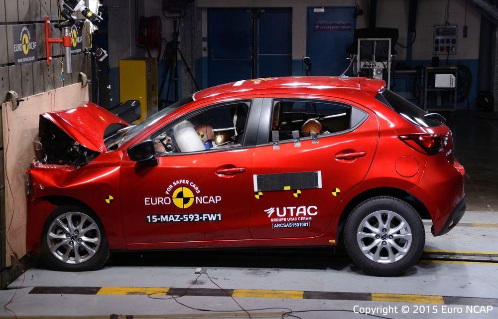 Rezultate EuroNCAP: 5 stele pentru Renault Espace şi Suzuki Vitara, 4 stele pentru Mazda2 şi Fiat 500X - Poza 11