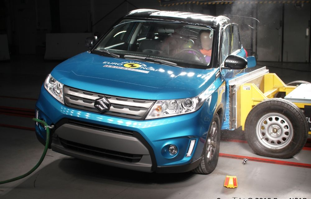 Rezultate EuroNCAP: 5 stele pentru Renault Espace şi Suzuki Vitara, 4 stele pentru Mazda2 şi Fiat 500X - Poza 7