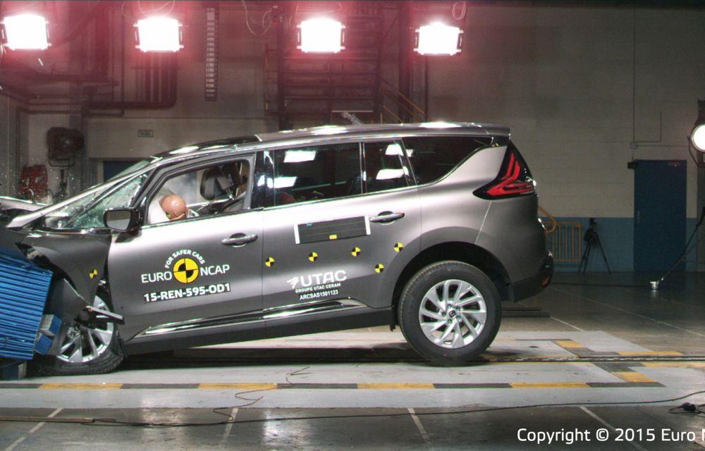 Rezultate EuroNCAP: 5 stele pentru Renault Espace şi Suzuki Vitara, 4 stele pentru Mazda2 şi Fiat 500X - Poza 16