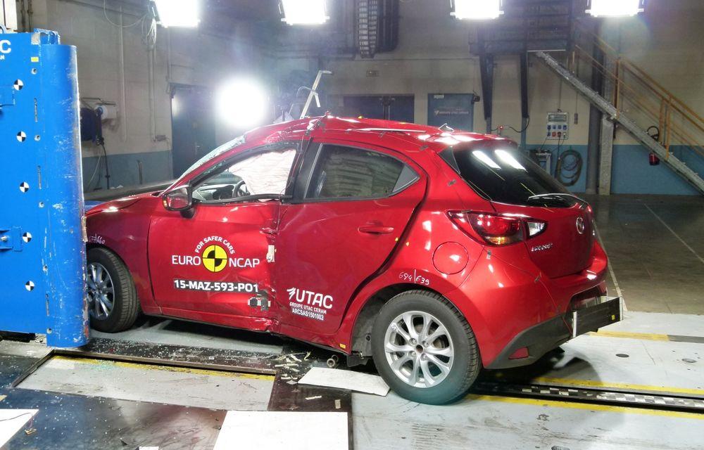 Rezultate EuroNCAP: 5 stele pentru Renault Espace şi Suzuki Vitara, 4 stele pentru Mazda2 şi Fiat 500X - Poza 13
