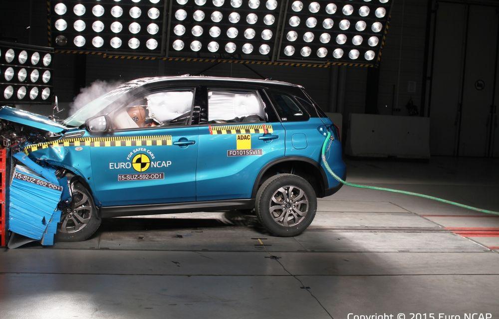Rezultate EuroNCAP: 5 stele pentru Renault Espace şi Suzuki Vitara, 4 stele pentru Mazda2 şi Fiat 500X - Poza 3