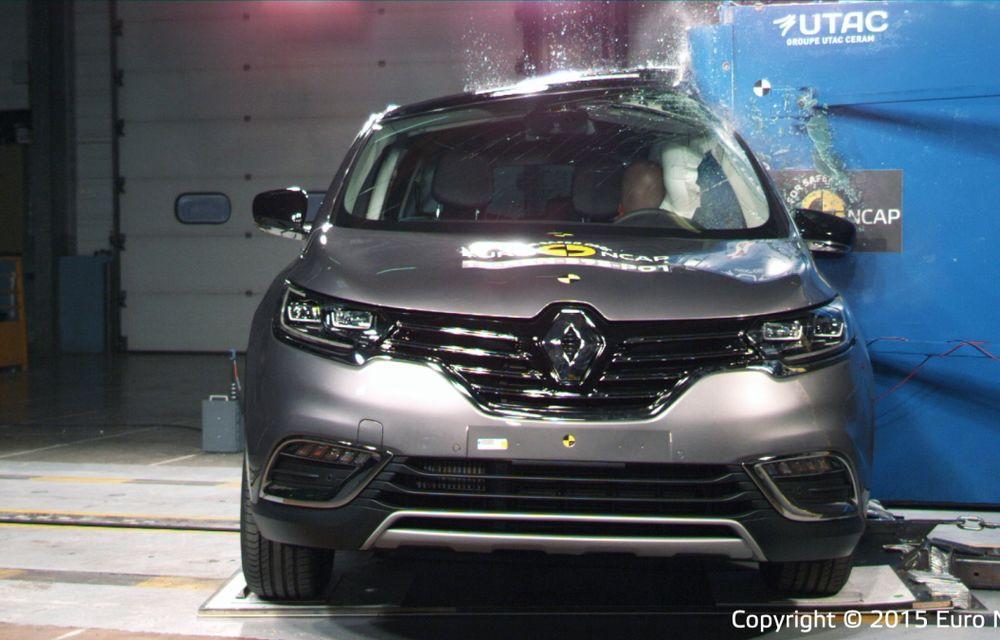 Rezultate EuroNCAP: 5 stele pentru Renault Espace şi Suzuki Vitara, 4 stele pentru Mazda2 şi Fiat 500X - Poza 18