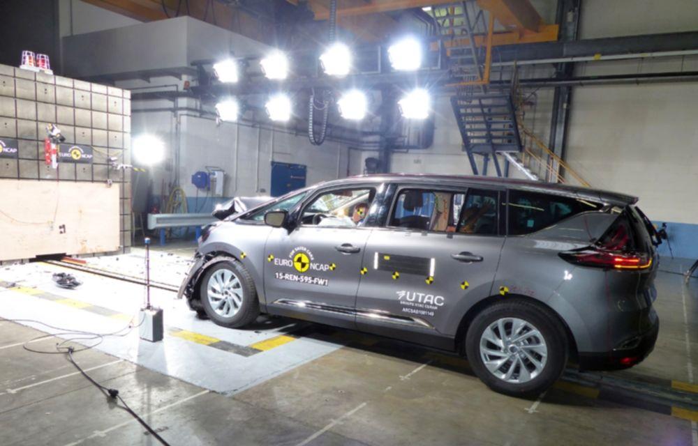 Rezultate EuroNCAP: 5 stele pentru Renault Espace şi Suzuki Vitara, 4 stele pentru Mazda2 şi Fiat 500X - Poza 17