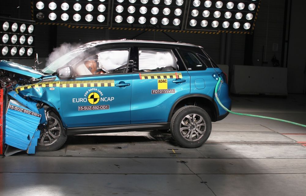 Rezultate EuroNCAP: 5 stele pentru Renault Espace şi Suzuki Vitara, 4 stele pentru Mazda2 şi Fiat 500X - Poza 1
