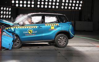 Rezultate EuroNCAP: 5 stele pentru Renault Espace şi Suzuki Vitara, 4 stele pentru Mazda2 şi Fiat 500X