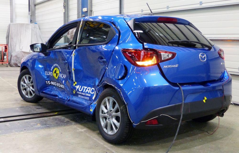 Rezultate EuroNCAP: 5 stele pentru Renault Espace şi Suzuki Vitara, 4 stele pentru Mazda2 şi Fiat 500X - Poza 15