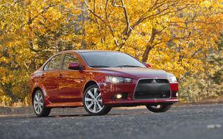 Mitsubishi Lancer facelift, confirmat pentru finalul acestui an