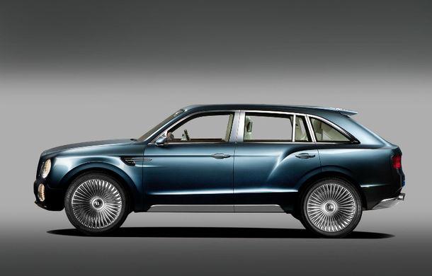 Bentley nu exclude posibilitatea unui SUV mai mic decât Bentayga - Poza 1