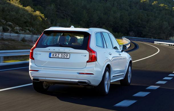 Volvo XC90 T8 Twin Engine, revizuit pentru a consuma doar 2.1 litri/100 de kilometri - Poza 3