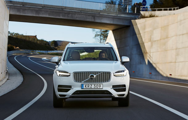 Volvo XC90 T8 Twin Engine, revizuit pentru a consuma doar 2.1 litri/100 de kilometri - Poza 2