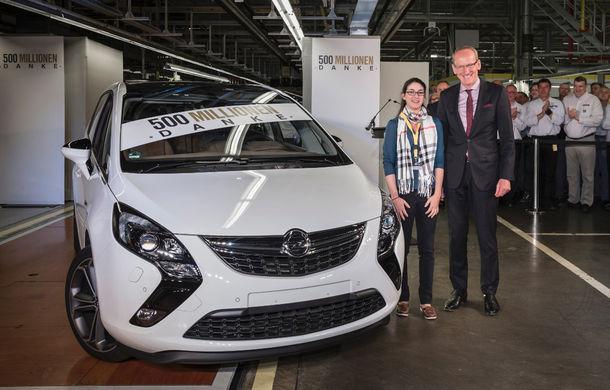 General Motors atinge 500 de milioane de maşini produse şi anunţă noua generaţie Opel Astra în finalul lui 2015 - Poza 3