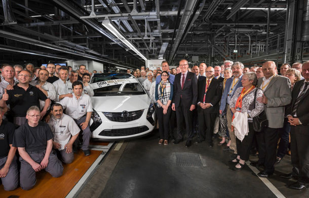 General Motors atinge 500 de milioane de maşini produse şi anunţă noua generaţie Opel Astra în finalul lui 2015 - Poza 2