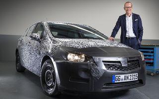 Opel Astra primeşte o nouă generaţie: primele imagini ale noului model