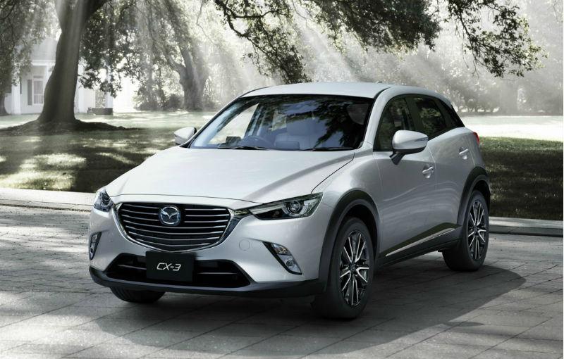 Preţuri Mazda CX-3 în România: cel mai mic SUV al japonezilor pleacă de la 15.300 de euro - Poza 1