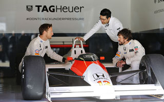 Video: Senna, Alonso şi Button, vedetele filmului care marchează 30 de ani de parteneriat McLaren-TAG Heuer