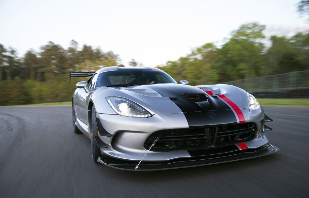 Dodge Viper ACR, cea mai performantă versiune a sportivei, se prezintă - Poza 4