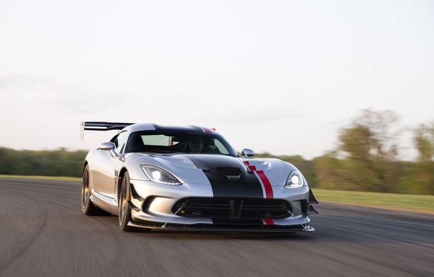 Dodge Viper ACR, cea mai performantă versiune a sportivei, se prezintă - Poza 3