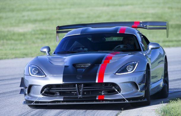 Dodge Viper ACR, cea mai performantă versiune a sportivei, se prezintă - Poza 10