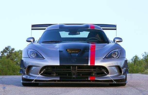Dodge Viper ACR, cea mai performantă versiune a sportivei, se prezintă - Poza 5