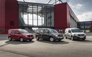 Mercedes-Benz actualizează gama Citan: start-stop în standard, diesel-uri Euro 6 şi noi opţionale