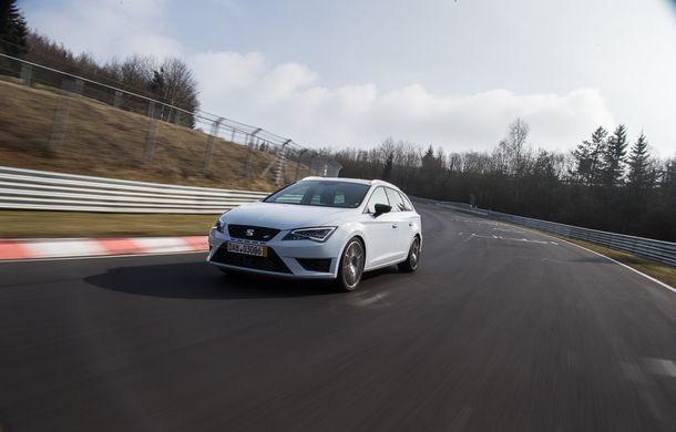 Seat Leon ST Cupra devine cel mai rapid break pe Nurburgring - Poza 3