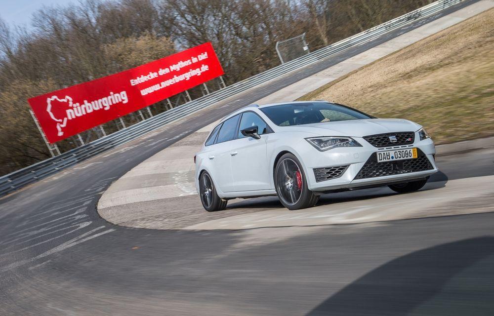 Seat Leon ST Cupra devine cel mai rapid break pe Nurburgring - Poza 1
