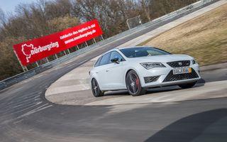 Seat Leon ST Cupra devine cel mai rapid break pe Nurburgring