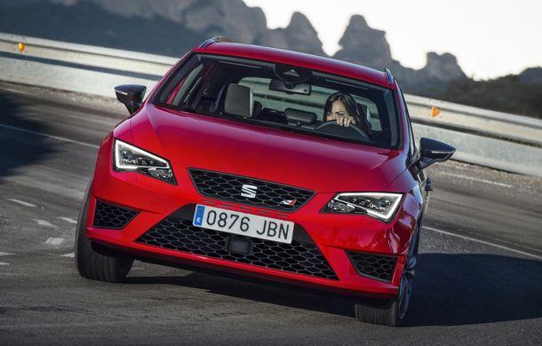 Seat Leon ST Cupra devine cel mai rapid break pe Nurburgring - Poza 5