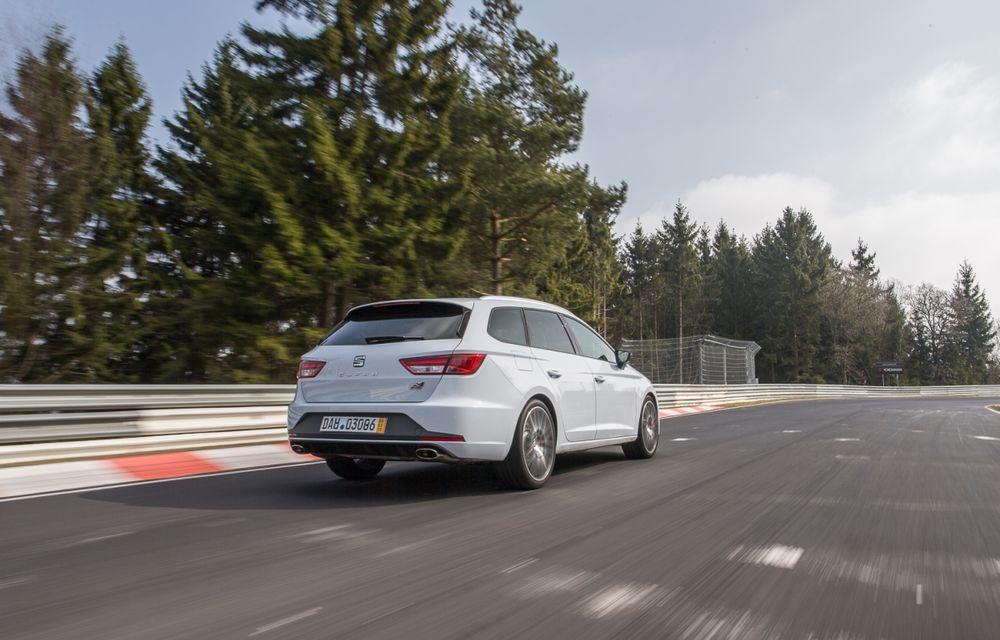 Seat Leon ST Cupra devine cel mai rapid break pe Nurburgring - Poza 4