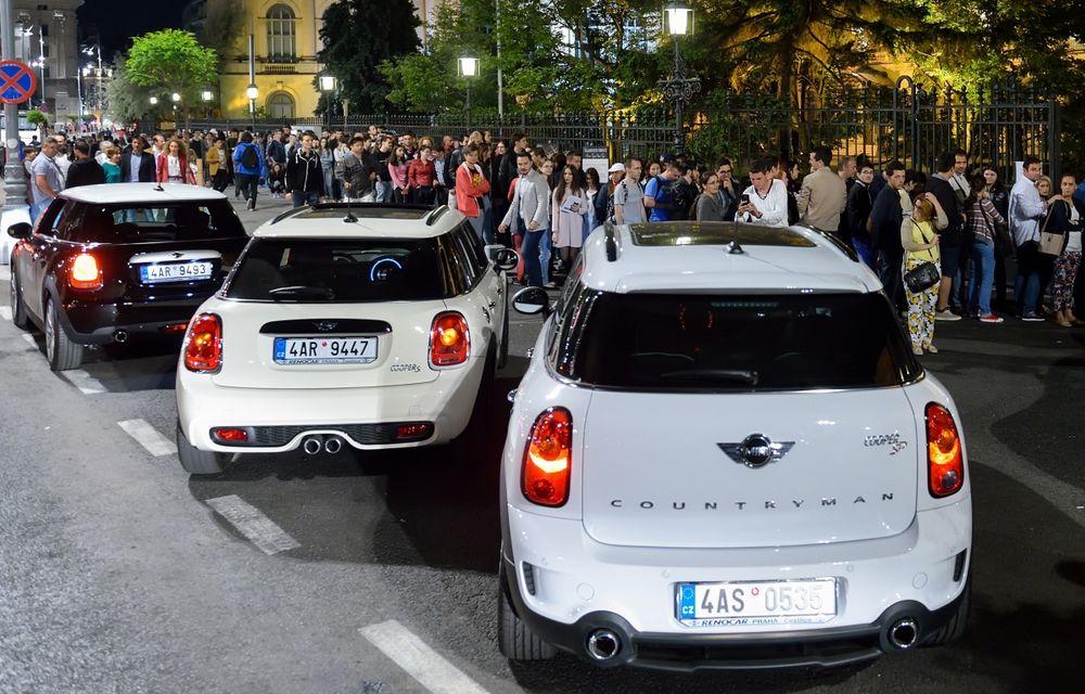 MINI Taxi a transportat peste 500 de pasageri la Noaptea Muzeelor 2015 - Poza 7