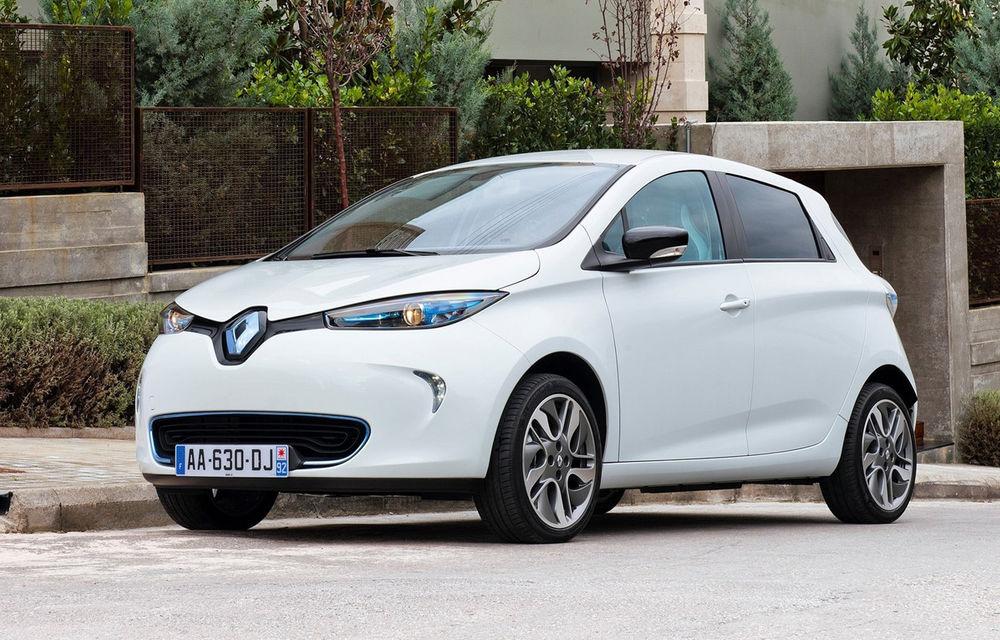 Modelul electric Renault Zoe a fost lansat oficial în România. Preţuri de la 20.900 de euro plus chiria lunară a bateriei - Poza 1