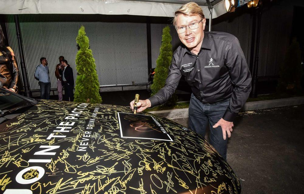 Mika Hakkinen a revenit în România în cadrul campaniei Join The Pact: Never Drink and Drive - Poza 7