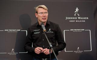 Mika Hakkinen a revenit în România în cadrul campaniei Join The Pact: Never Drink and Drive