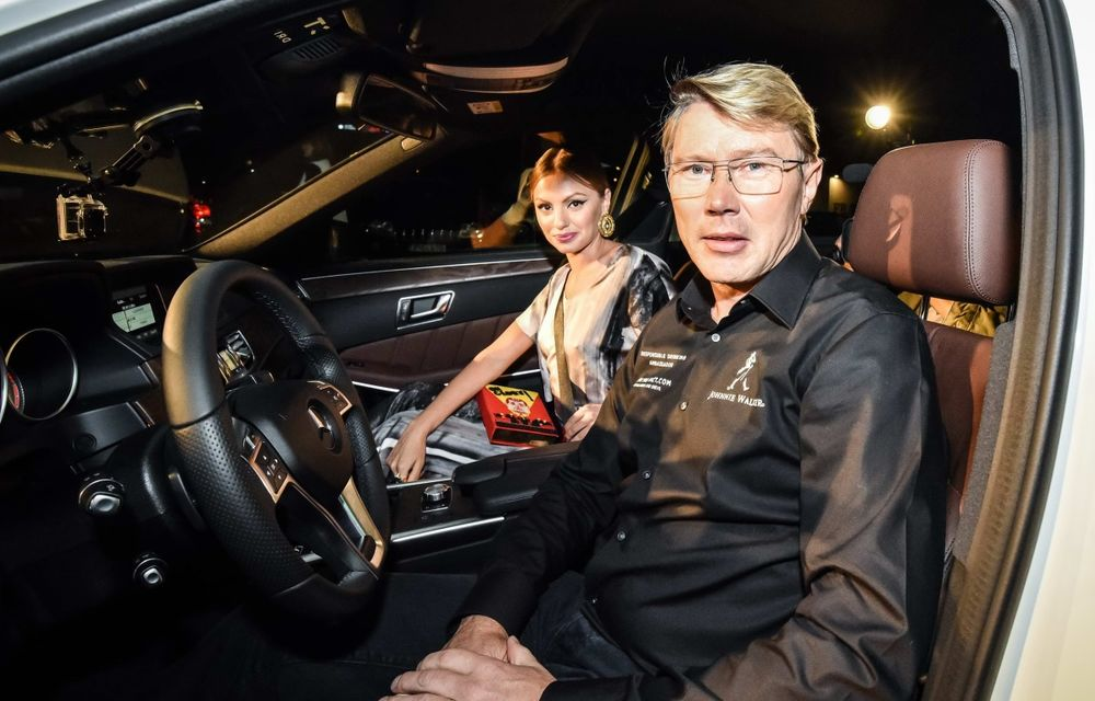 Mika Hakkinen a revenit în România în cadrul campaniei Join The Pact: Never Drink and Drive - Poza 15