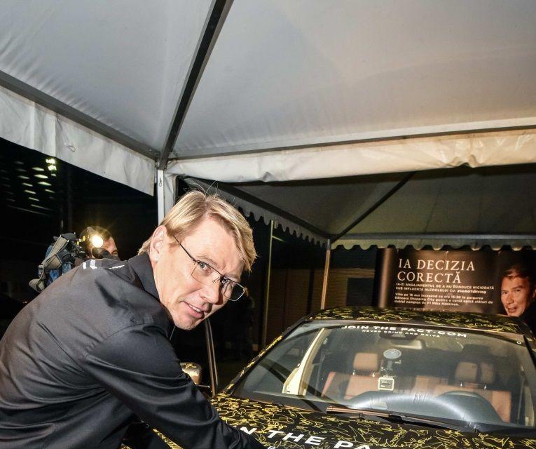Mika Hakkinen a revenit în România în cadrul campaniei Join The Pact: Never Drink and Drive - Poza 12